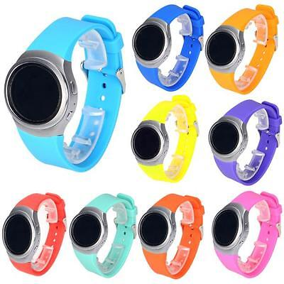 Luxury Jelly Color Silicone Watch Band Strap For Samsung Galaxy Gear S2 SM-R720
