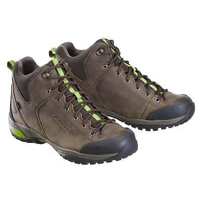 Kathmandu Straven Mens Leather Vibram Sole Water Resistant Hiking Boots Shoes