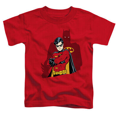 Batman and Robin WINGMAN Licensed Boys Kids Graphic Tee Shirt 2T 3T 4T 4 5-6 7