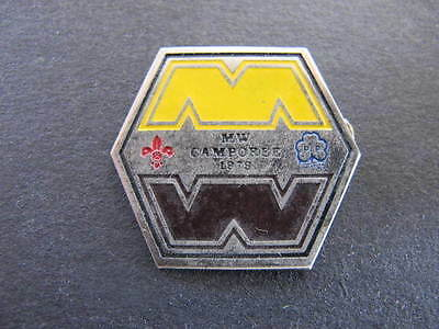 MW Camporee 1979 Scouts Guides Badge