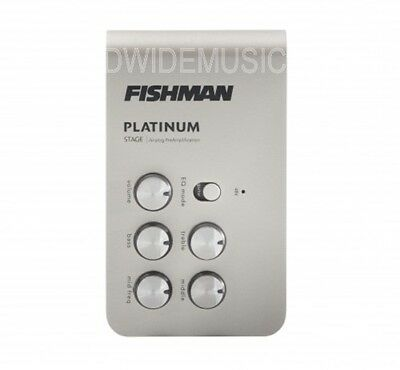 Fishman PLT-301 Platinum Stage Universal Instrument Preamp and DI Box