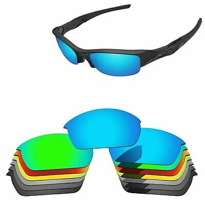 Polarized Replacement Lenses For-Oakley Flak Jacket Sunglasses Multi-Options