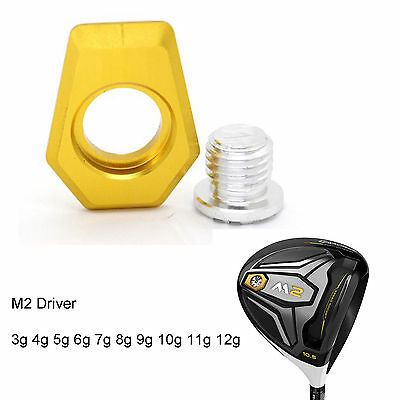 Set of Weight For TaylorMade M2 Driver 3g 4g 5g 6g 7g 8g 9g 10g 11g 12g