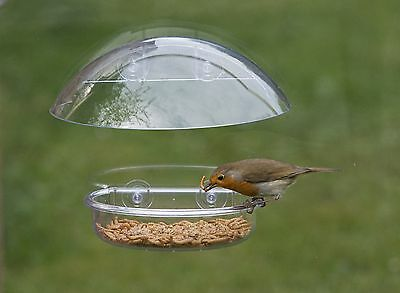 20:20 WINDOW BIRD FEEDER Jacobi Jayne Seed Mealworm Table | FREE Fast Delivery!
