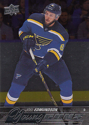 2015/16 Upper Deck Series 1 Young Guns Foil Epack Exclusive JOEL EDMUNDSON 207