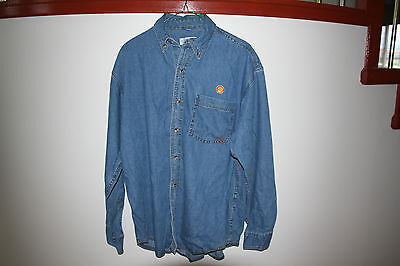 Shell Oil Uniform Shirt small