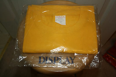 Shell Oil Uniform Yellow T-Shirt Large