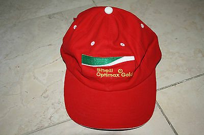 Shell Oil Optimax Gold Cap/Hat