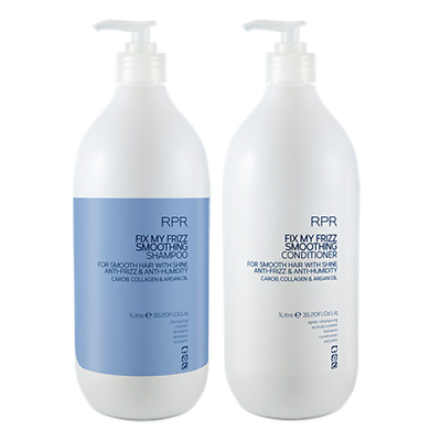 RPR Fix My Frizz Smoothing Shampoo & Conditioner 1000ml (Anti Frizz - Humidity)