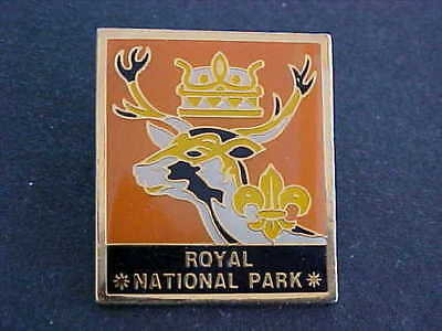 Royal National Park Scouts Stag Badge