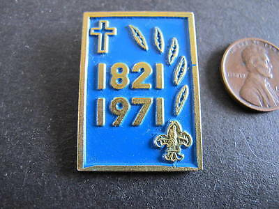 Scouts Badge 1821 1971