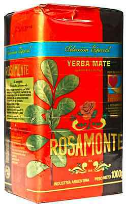 Yerba Mate - ROSAMONTE SPECIAL  2 x 1 KG (ARGENTINA)