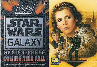 Star Wars - Galaxy Series 3 - Promo Chase Trading Card #000 - Leia - NM