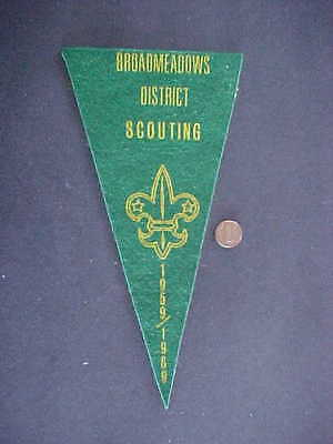 Broadmeadows District Scouts Pennant 1969