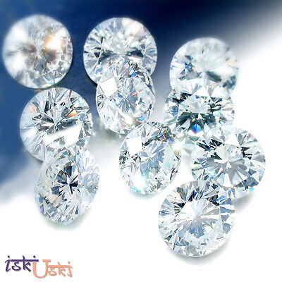 REAL 100% NATURAL Loose 1 Ct 10 Round Diamonds Clarity-SI Color-I-J White Colour