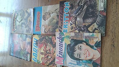 Lot Divers  Battler Britton,warlord,panache,wham,garry,minouche