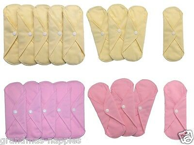 Reusable Incontinence Pads slip inside your underwear super absorbent, Ladies