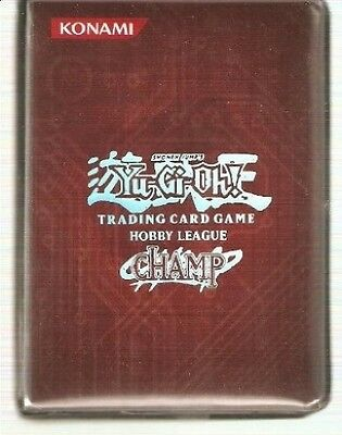 Official YuGiOh! Hobby League CHAMP Mini Album: Red. Shipping is Free