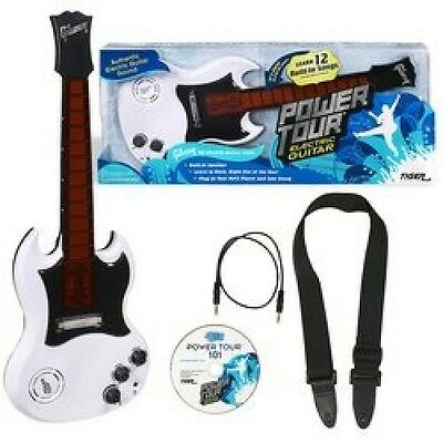 Power Tour Electric Guitar - White. Shipping is Free