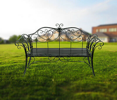 Fashionable Outdoor Relaxing Garden Park Bench up to 3 Seat Furniture Decoration
