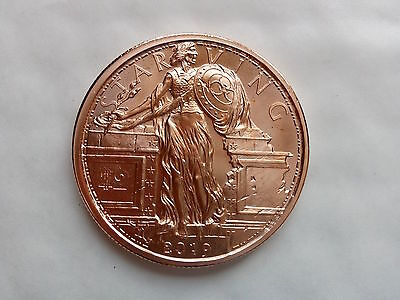 2 x 1 oz .999 Copper Zombucks Starving Liberty - 7th in series