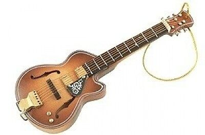 Acoustic Guitar Ornament - F Hole. Free Shipping