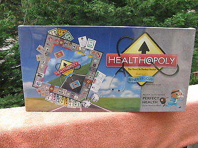 Healthopoly Monopoly For The Road To Perfect Health~New & Sealed!