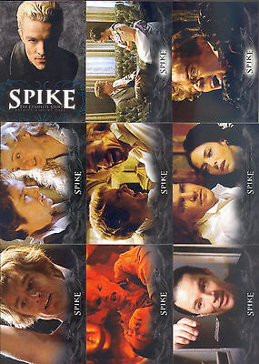 Spike - The Complete Story - Trading Card SET (71) - Buffy - 2005 - NM