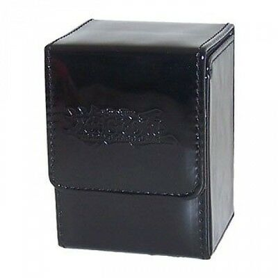 Trading Card Supplies - Yu-Gi-Oh DECK BOX - BLACK (10cm ). Brand New