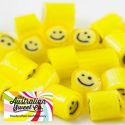 Mango Smile Rock Candy Bulk Lollies Wedding Favours Birthday Party Valentine