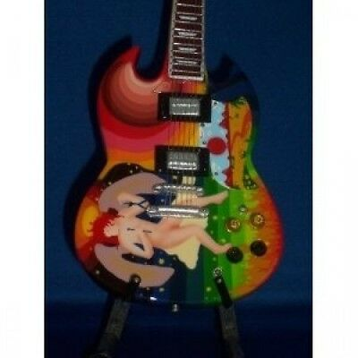 Mini Guitar TODD RUNDGREN Psychedelic Fool. Shipping Included