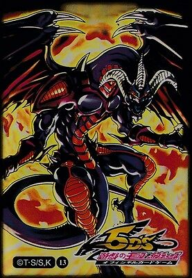(100)Yu-Gi-Oh Red Dragon Archfiend Card Sleeves 100Pieces 63*90mm. Shipping Incl