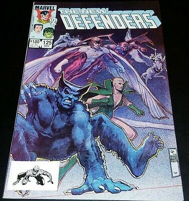 The New Defenders #125. High Grade.