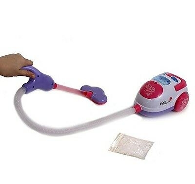 Dazzling Toys Happy Family Kids Pretend Play Real Suction Vacuum Cleaner Bigger