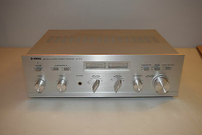 Vintage Yamaha CA-510 Natural Sound Stereo Amplifier *WORKS*