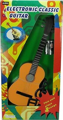 Electronic Playable Classic Guitar. Shipping Included