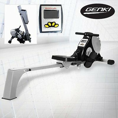 NEW Multi-Function Exercise Workout Fitness Rowing Machine w Magnetic Resistance