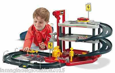 Race And Play Ferrari Parking Garage Parcheggio Multipiano Con Rampe Burago 1:43