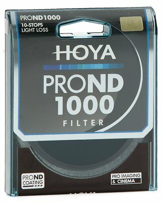 HOYA Pro ND1000 Filter 46, 49, 52, 55, 58, 62, 67, 72, 77, 82mm  10 stops ND