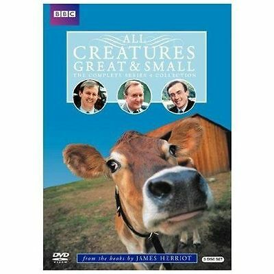 All Creatures Great & Small: The Complete Series 4 Collection, Good DVD, Christo
