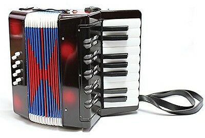 New Classic Toys Big Accordion (Black). Delivery is Free