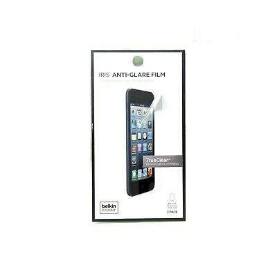 Belkin Screen Protector For Ipod Touch 5Th Gen Iris Anti-Glare 2 Pack New F8W394