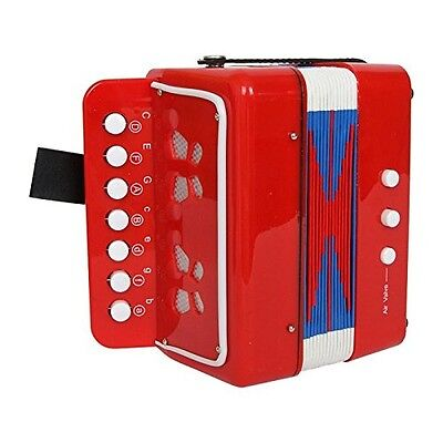 """Legler """"Red"""" Accordion Musical Toy. Delivery is Free"""