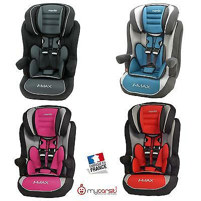 si ge auto isofix confort groupe 1 2 3 de 9 36kg fabrication fran aise eur 94 99 picclick fr. Black Bedroom Furniture Sets. Home Design Ideas