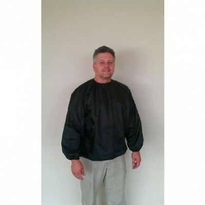 Nylon Black Sauna Suit Jacket - 5XL. Delivery is Free