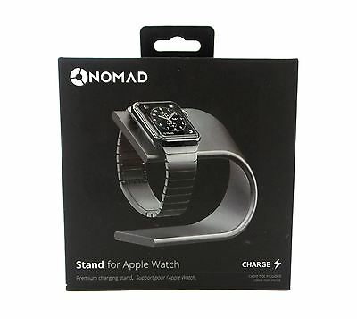 Nomad Stand for Apple Watch Space Gray New Open Box