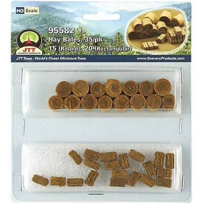 Model Train  HO / OO Scenery - Bales of Hay 35 to a pack