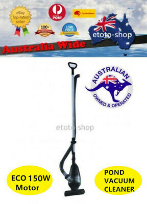 New Model Jebao EC1 Large & Powerful Pond Cleaner 9000LPH Pump Built in