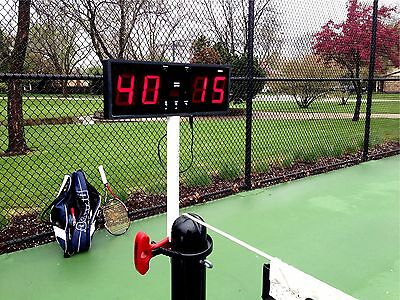Digital Tennis Score Keeper (Counter) with Wireless Control (Volleyball, e.t.c.)
