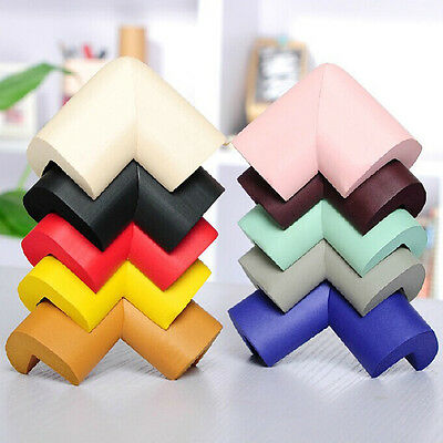 4x Baby Kid Safety Security Table Desk Corner Edge Cushion Protector Soft Guard